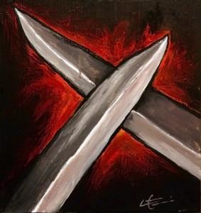 """""""Желязо остри желязо"""", картина от Iconverse (http://j.mp/1v4AWZT)"""