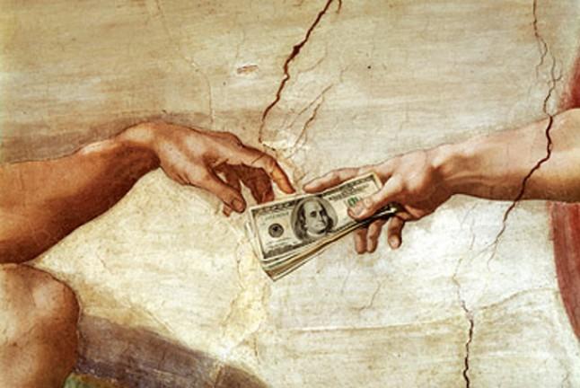 Разсъждение на глас №38: Относно даренията към църква