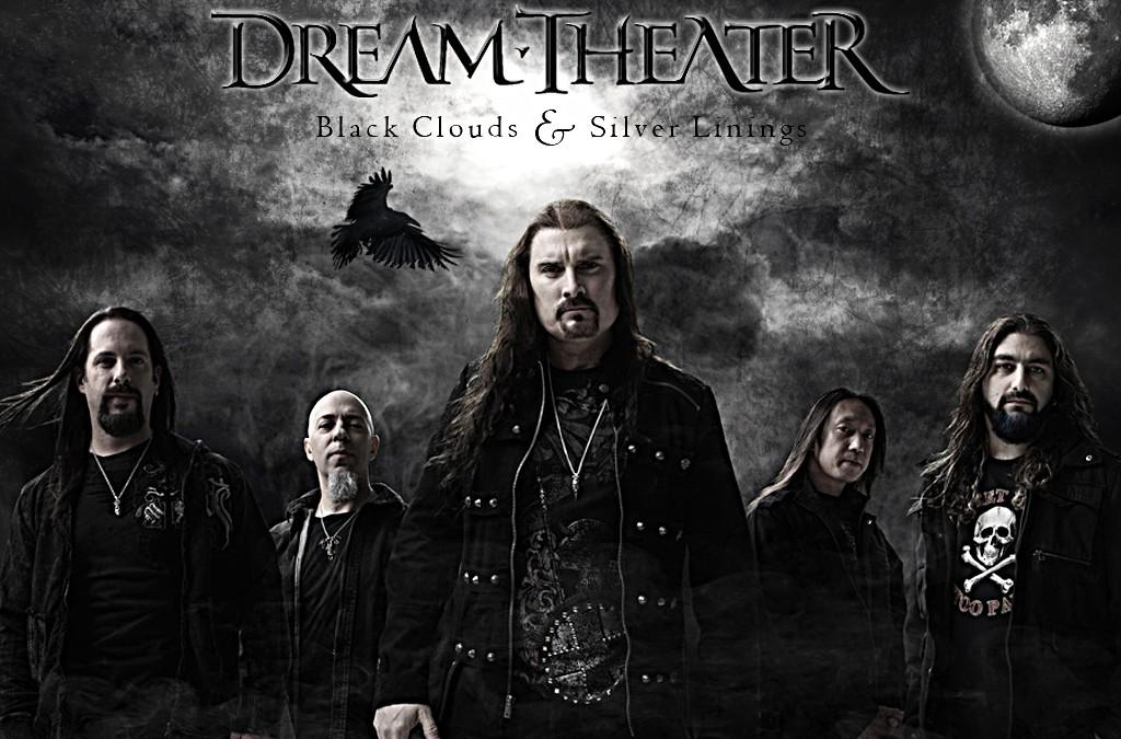 """Групата Dream Theater в състава от албума """"Black Clouds & Silver Linings""""."""