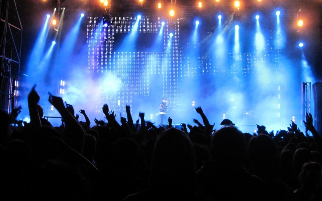 Рок концерт.